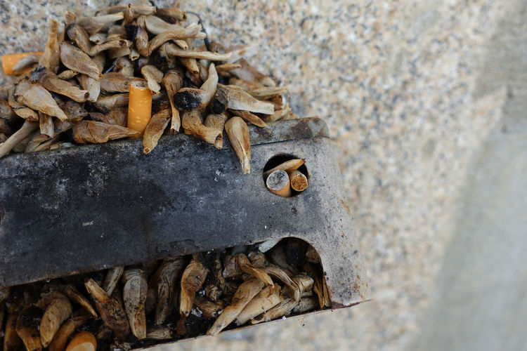 A lot of cigarette butts Smoke Wall Cigarette  Cigarette Butts Food And Drink Health Issues Kill Wellbeing Yellow