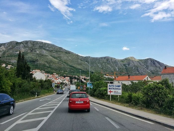 web upload! =) Community Composition Country Road Countryside Croatia Day Destination Dubrovnik Dubrovnik, Croatia Hill Human Settlement Landscape Leading Mountain Mountain Range Non-urban Scene Outdoors Perspective Remote Road Road Marking The Way Forward Transportation