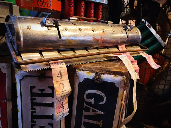 Boletera antigua Argentina 🇦🇷 Argentina Photography Argentina Pic Argentina Boletos Antiguos Argentina Boletos De Colectivo Boletos Vending Old Fashion Tickets Communication No People Text Architecture Built Structure Sign Number Close-up Illuminated Lighting Equipment Outdoors Building Exterior Metal Western Script Day Wall - Building Feature Building Old