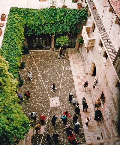 The house of Juliet - Verona, Italy Architecture People Real People Men Walking Women Tree Day Outdoors Crowd Adult William Shakespeare Adults Only Lifestyles Verona Italy High Angle View Group Of People Romeo And Juliet's Balcony Large Group Of People Leisure Activity Building Exterior Built Structure The Graphic City