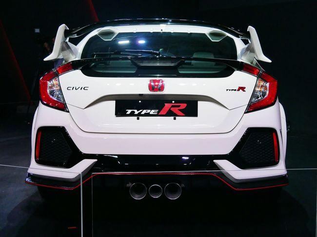 Honda Hondacivic Hondacivictyper 2017