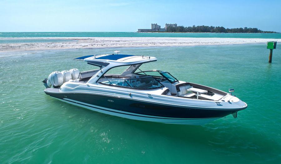 Boating Marina Sarasota Boat Day Luxury Nature Nautical Vessel No People Outdoors Powerboat Sandbar Sea Sea Ray Sund Sea Rocks Sky Transportation Water Yacht