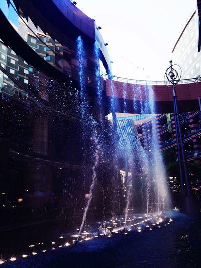 Water Water_collection Splash Cityscapes Cityscape Reflection Glass STLSQA Architecture EyeEm Meetup Fukuoka