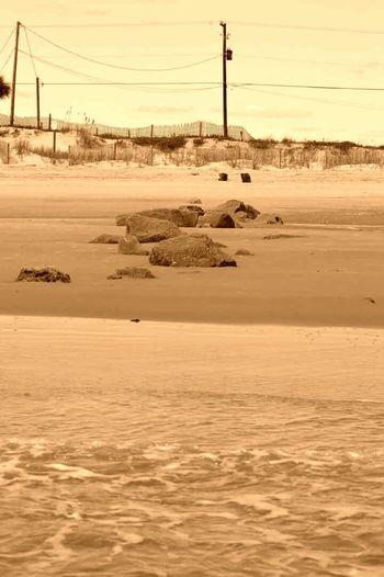 Ocean Sepia Relaxing Water_collection Enjoying The Sun