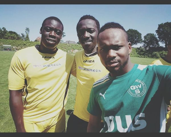 African Soccer⚽ Summer Togetherness Communication Friendship Confidence  Sierra Leone Senegal Kongo Gambia Germany onelove unity