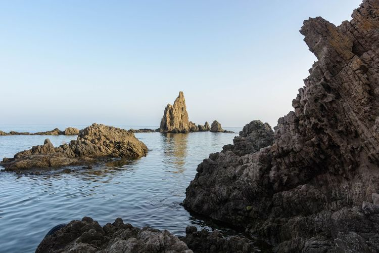 Almería Arrecife De Las Sirenas Cabo De Gata National Park SPAIN Travel Travel Photography Traveling Beach España Landscape Landscape_photography Sand Summer Sunset Tourism Travel Destinations