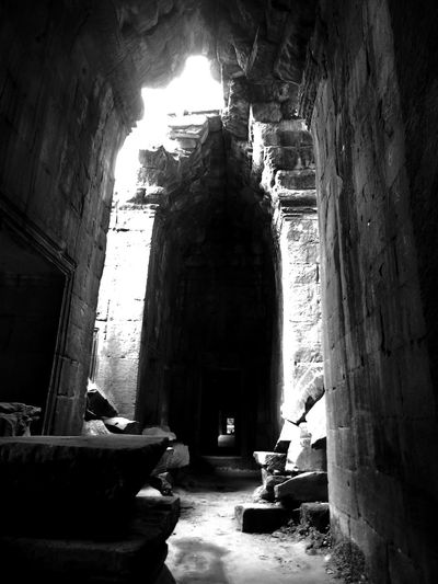 Mystical Atmosphere Angkor Wat Tranquility Historical Building Siemreap Exploring Bagpacking Trip Cambodia Ruins ASIA Temple Kambodscha Tunnel Angkor Angkorarcheologicalpark Siem Reap Historic