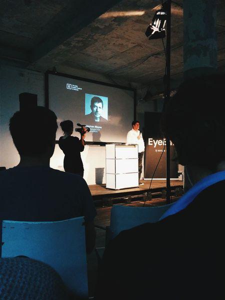 Stephen Mayes. The 2014 EyeEm Festival & Awards Vscocam Speaker Berlin