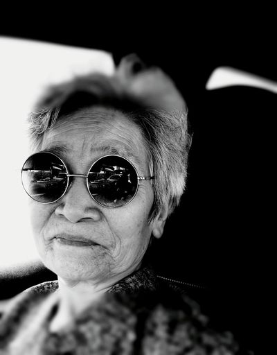 B&W Portrait ♡ Happy Mother's Day my favorite grandmother ♡Happy Mother's Day! Happy Mother