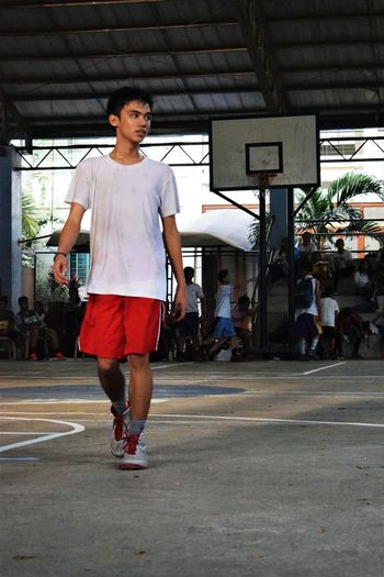 The Portraitist - 2017 EyeEm Awards Full Length One Man Only Basketball - Sport Young Adult Real People Standing Day People Sportsman Sweat Eyeem Philippines