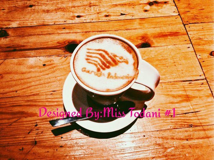 Cappuccino ♥ Garuda Indonesia Garudaindonesia