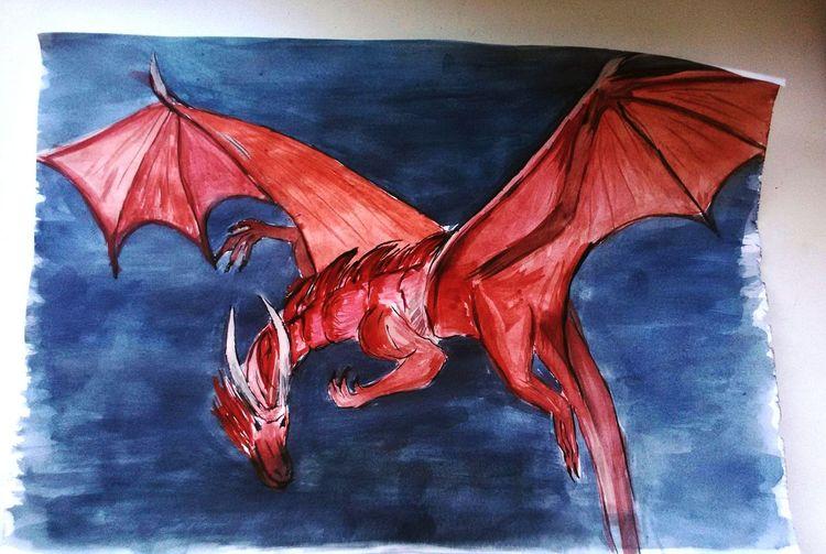 Dragonlance Dragon RAD Drawing