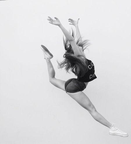 Flexibility Gymnastics❤ Blackandwhite Monochrome