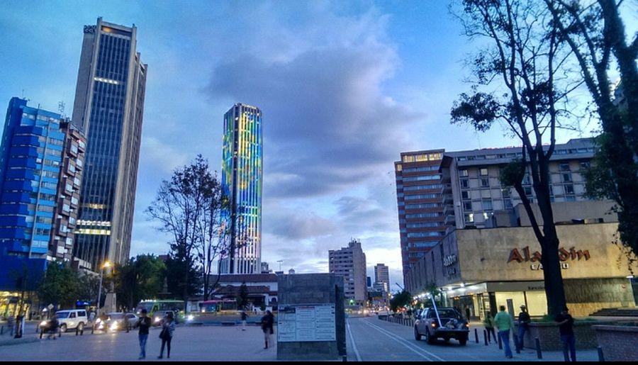 Bogota colombia.... Taking Photos My City Bogota. Hello World
