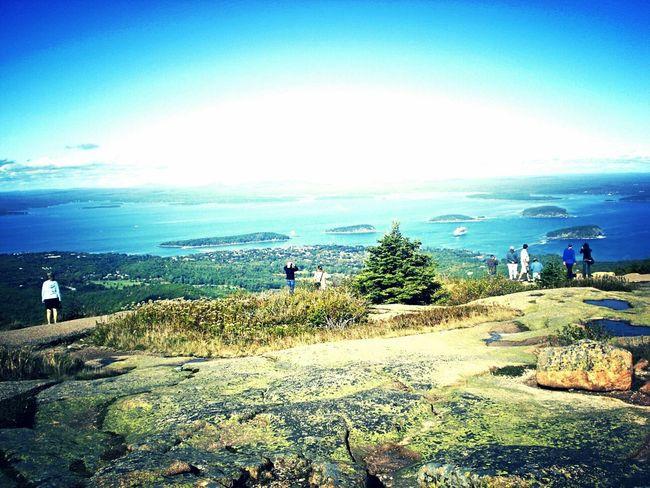 cadillac mountain 1254 feet above sea levels Peaceful serenity Takemeback