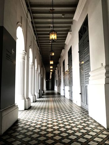 Arteestry. Corridor Indoors  Architectural Column Architecture Built Structure The Way Forward Passageway No People Lifestyles The Secret Spaces The Architect - 2018 EyeEm Awards
