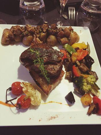 Boeuf Filet Rossini Légumes Viande Excellent
