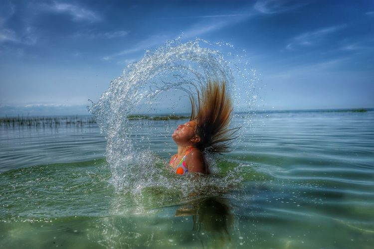Ariel Water Water_collection Mermaid Splash Hair People Action
