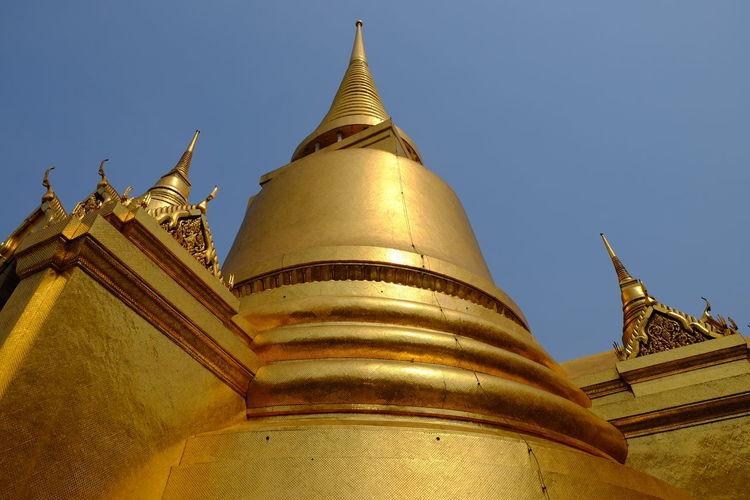 Golden stupa or