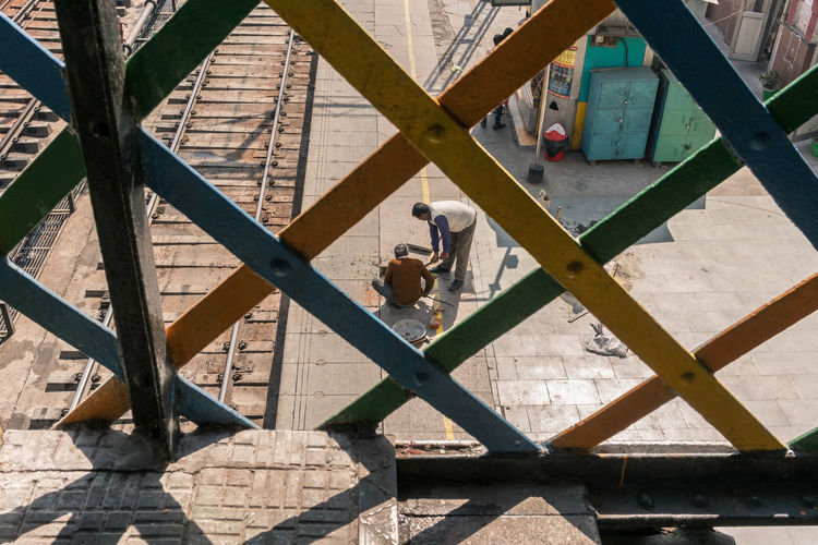 Day Diagonals Geometry Everywhere Geometry Pattern India India Culture Indiapictures Jalandhar People Street Photography Streetphotography Travel Travel Photography Travelphotography Yellow