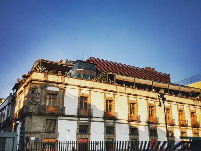 Built Structure Architecture Building Exterior Outdoors Day Cityscape Interesting Places Mexico City Travel Destinations PhonePhotography Old Buildings Mexico Travel Cultures History Sunset Architecture City