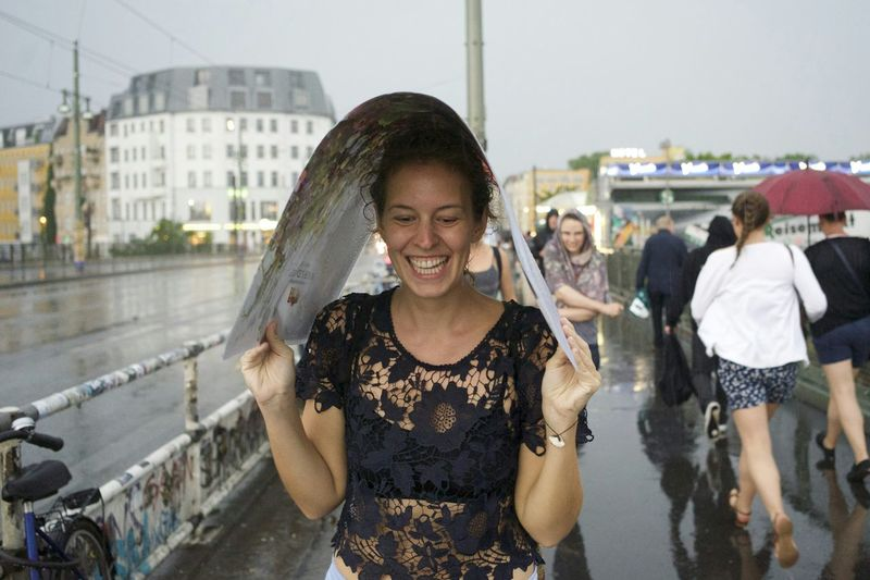 The Moment FriedrichshainFaces Of Summer Fall Beauty Singing In The Rain Capture The Moment Capture Berlin Berlin DoneThat Laughing In The Rain Second Acts