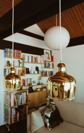 Architecture Midcentury Midcentury Modern Scandinavian Style Home Home Interior Interior Design Hanging Indoors  Lighting Equipment No People Pendant Light Illuminated Electric Lamp Still Life Wood - Material Focus On Foreground Table Ceiling Decoration Home Interior