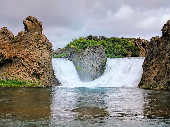 Waterfall Nature Outdoors Landscape Rock - Object Power In Nature Beauty In Nature Iceland
