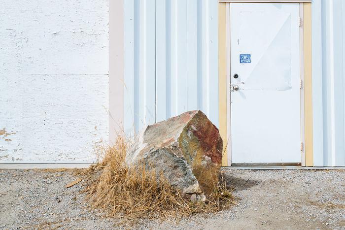 Architecture Day Door Minimal Minimalist Northern Canada Rock Urban Yellowknife
