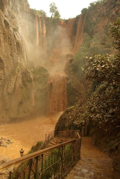 Cascade Ouzoud Mud Morocco Rainy Days