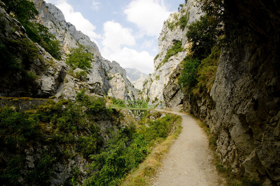 Cliff Day Eroded Exploring Geology Mountain Physical Geography Rock Rock - Object Rock Formation Rocky Rocky Mountains Rough Scenics Stream Picos De Europa Rutadelcares