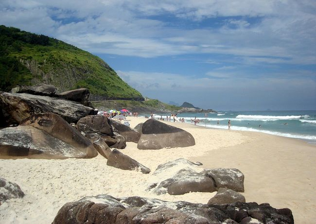 Beach Sand Sea Vacations Nature Travel Destinations Summer Cloud - Sky Tourism Water Landscape Sky Outdoors Day Relaxation Beauty In Nature Horizon Over Water No People Wave Tree Prainha Rio De Janeiro Blue Done That. Lost In The Landscape
