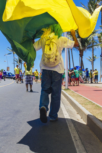 Dilma Roussef No Corruption Peacefull Protests Presidential Impeachment Protests Protests In Brazil Ptsd Awareness Riot Sunny Day The Photojournalist - 2016 EyeEm Awards Fuji Astia