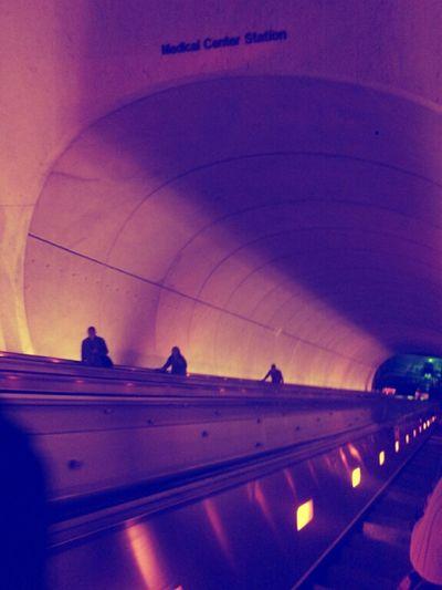 Escalator Commuting