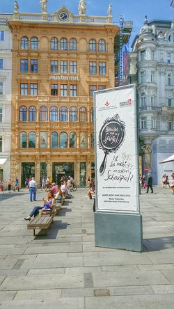 On a suny evening sit down please. Vienna Austria fun summer Architecture & Streetphotography i love Austria ❤ Hello world from Europe ☺