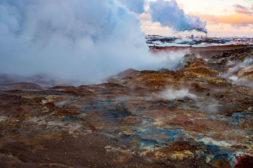 Reykjanes Fujifilm X-pro2 Fujifilm_xseries Fujifilm Eruption Geysir Iceland Geysir Hot Springs Geysir Island Iceland Reykjanes Geopark Reykjanes Heisse Quellen Thermal Hot Source Nature Beauty In Nature Steam Geyser Outdoors No People Travel Destinations Erupting Power In Nature Travel Scenics Hot Spring Landscape Cloud - Sky Sky Physical Geography The Traveler - 2018 EyeEm Awards