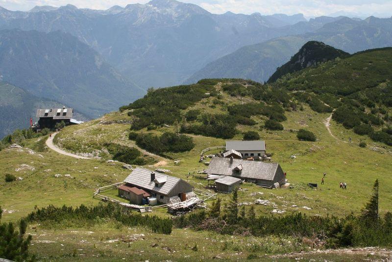 Alm Almen Austria Beauty In Nature Feuerkogel Landscape Mountain Mountain Range No People Outdoors Salzkammergut