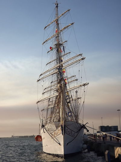 Boat Cloud - Sky Day Mast Mode Of Transport Nautical Vessel Portugal Sail Sailboat Sailing Sailing Ship Scenics Sea Ship Sky Tall Ship Tranquil Scene Tranquility Transportation Vacations Water Water Vehicle Ilhavo No Filter, No Edit, Just Photography