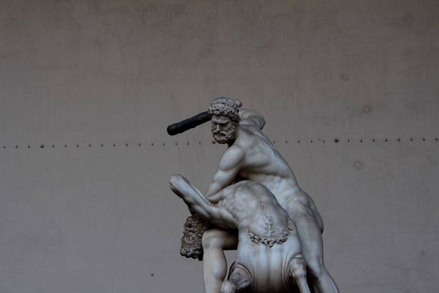 Adapted To The City Statue Art And Craft Sculpture Human Representation Low Angle View Chek This Out  Story Firenze, Italy Firenzemadeintuscany Firenze Live Statue Statue In The City Statues EyeEm EyeEm Gallery Statue Eye4photography  Florence Florence Italy Well Turned Out EyeEm Best Shots