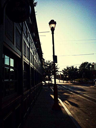 Sunrise on South Street