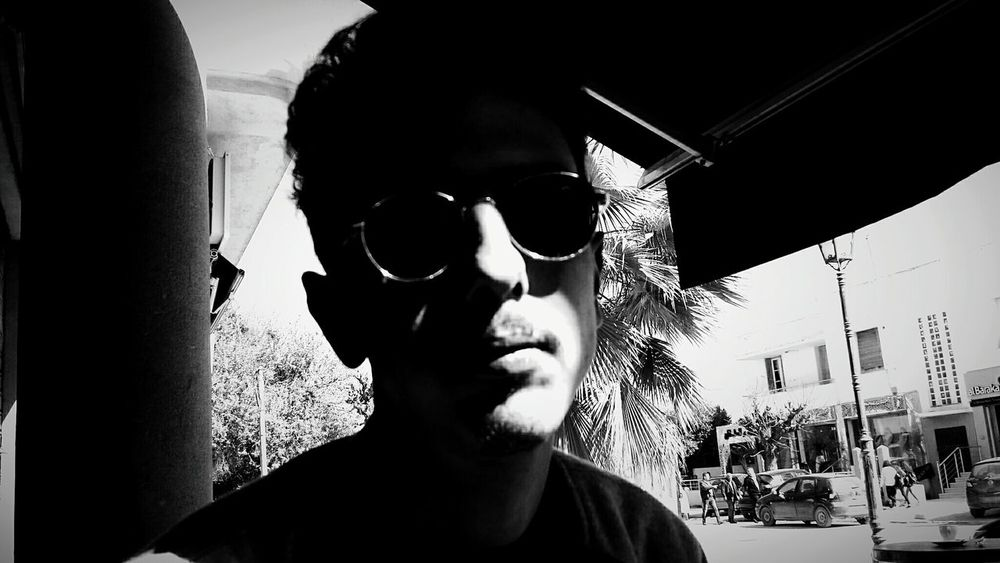 portrait of a friend Blackandwhite Black Blackandwhite Noir Et Blanc Gaze Sunglasses Sunlight Sunglasses Adult People Adults Only One Person Beard Headshot Portrait Day Outdoors One Man Only Lifestyles Front View This Is Masculinity The Portraitist - 2018 EyeEm Awards
