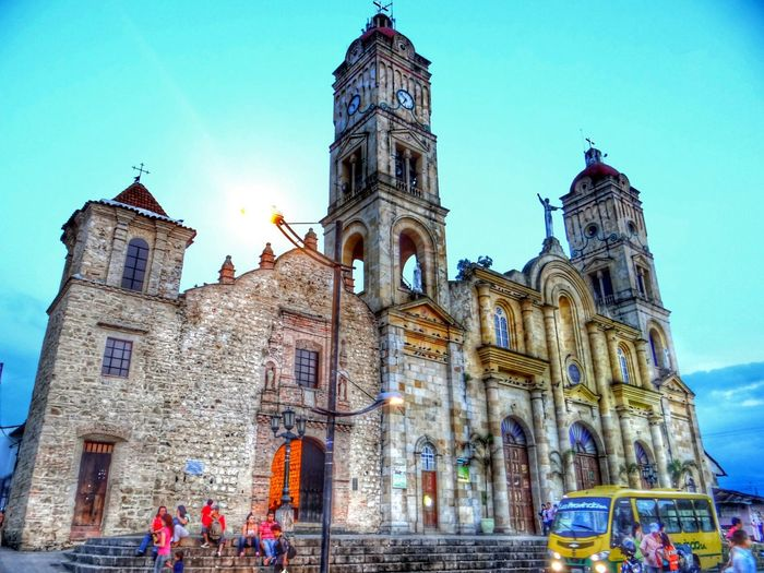 Traveling I Love Colombia Church Art