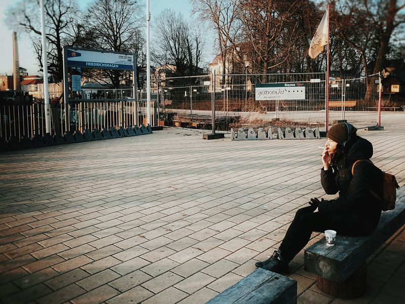 Cigarette break... One Person Adults Only Real People Outdoors People Huawei P9 Leica My Point Of View Cold Temperature Huaweiphotography Candidmoments Streetphotography Street Portrait The City Light Women Around The World TCPM Neighborhood Map