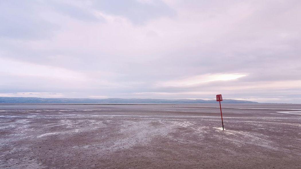 EyeEmNewHere Coast Wales Coast To Coast Water Full Length Sea Sand Dune Beach Sand Desert Standing Summer Lifeguard  Low Tide