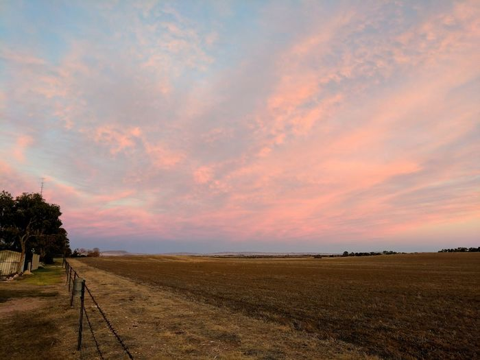 Showcase April Landscape Sand Sunset Sky Nature Desert Outdoors Beauty In Nature No People Cloud - Sky Day Dramatic Sky Tranquility Vacations Beauty In Nature Luminosity Eyeem Market Tranquil Scene Landscape_Collection Yorke Peninsula Romantic Sky South Australia