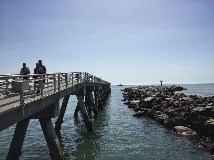 Jetty & pier Jetty Park Port Canaveral Canaveral Florida Fishing Pier Rock Jetty