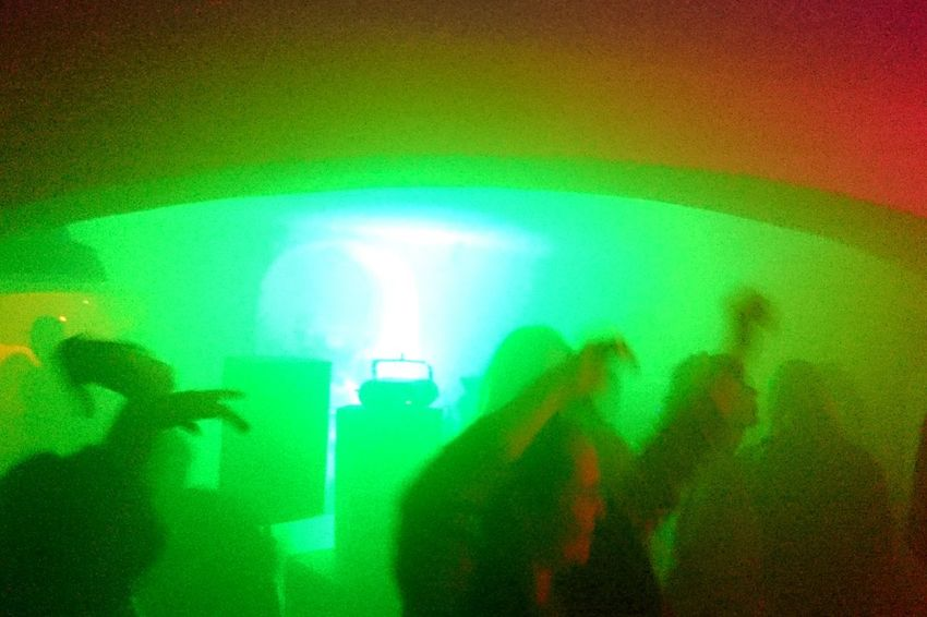 Green Color People Nightlife Men Silhouette Indoors  Illuminated Music Adult Two People Nightclub Arts Culture And Entertainment Togetherness Performance Adults Only Real People Night Technology Lifestyles Fan - Enthusiast