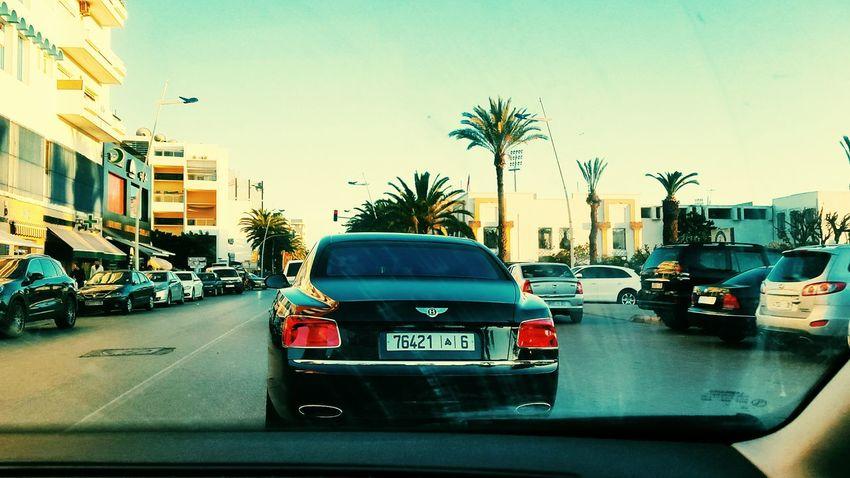 Travel City Car Bentley Bentley Car Bentley Blue Morocco Day سيارات سيارة فخمة