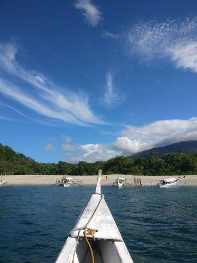 Blue Sky Boat Beach Island Island Hopping EyeEm Selects