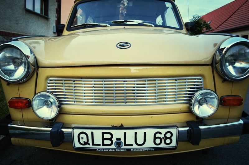 Trabant Street Photography DDR On The Road